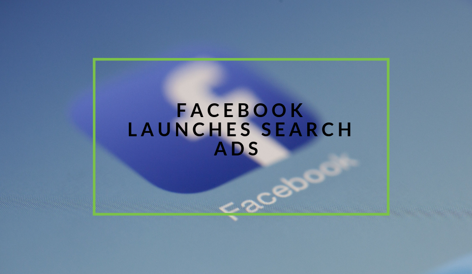 Facebook launches search ads