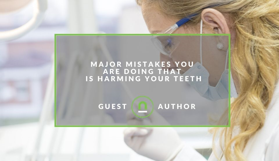 Mistakes that harm your teeth