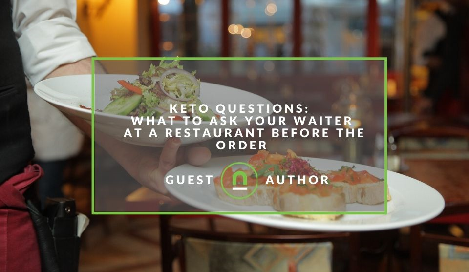 How to order for a keto diet when eating out
