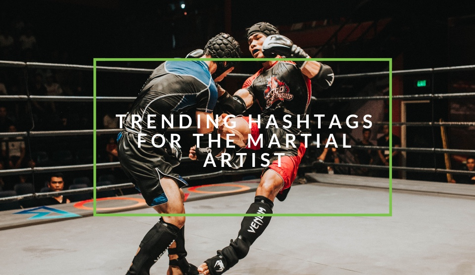 Hashtags for martial artists