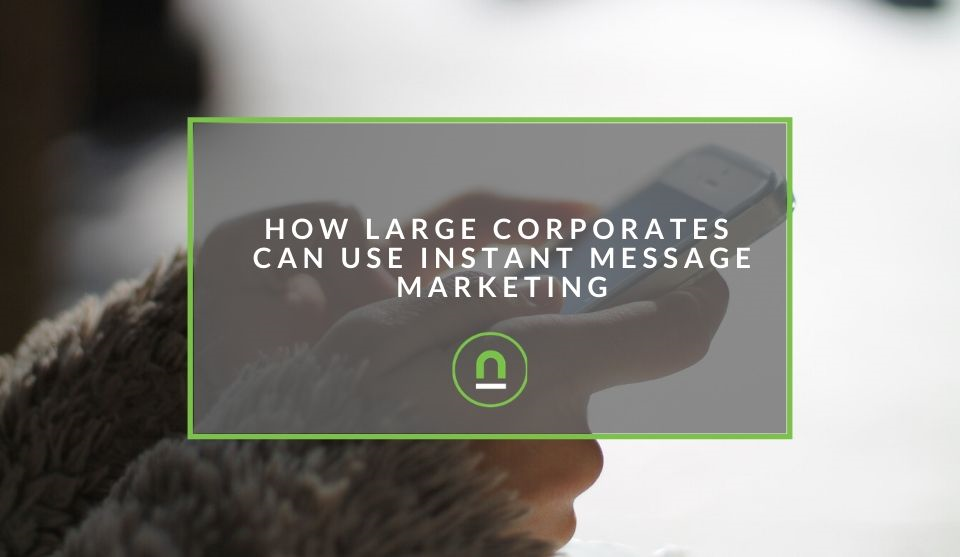 Instant message marketing