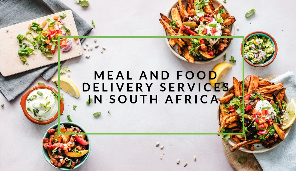 Food delivery services in South Africa