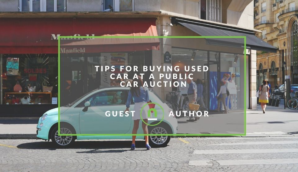 Car auction tips