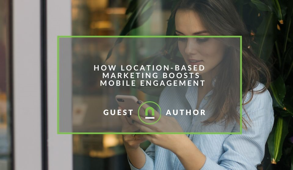 Using location based marketing