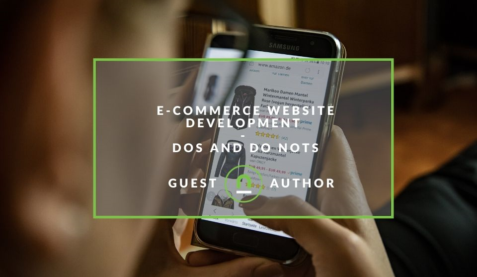 Tips for building an eCommerce site