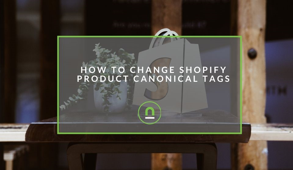 Updating product canonical tags in shopify
