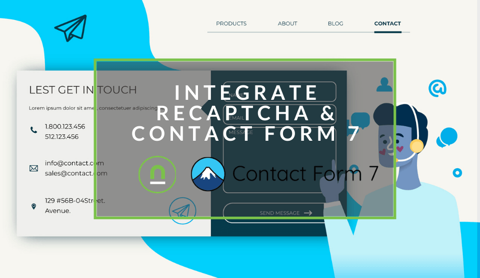 integrate contact form 7 and google reCAPTCHA