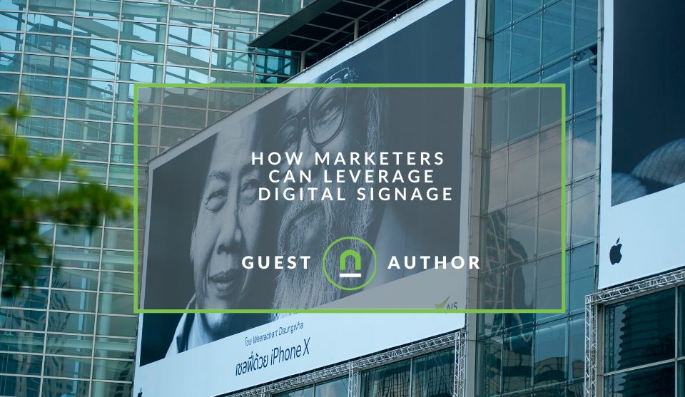 How to promote your business with digital signage