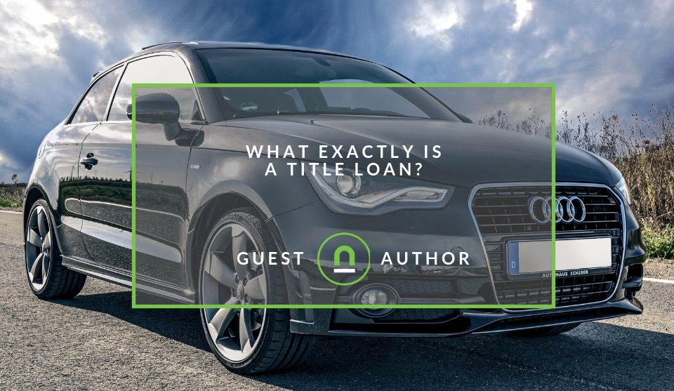 How a title loan works