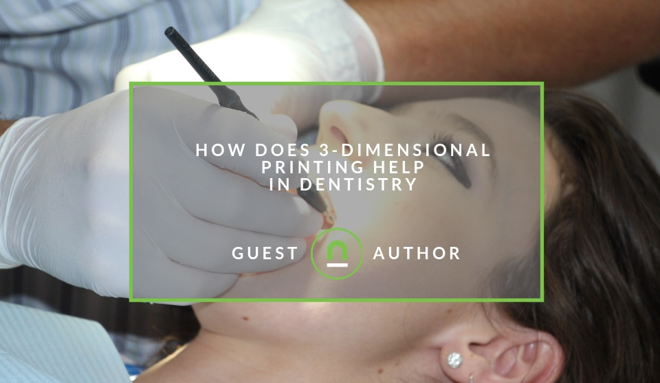 How 3D printing can help dentists