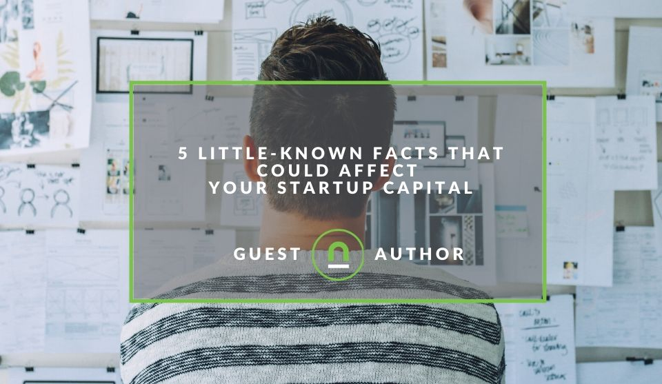 Methods of getting startup capital