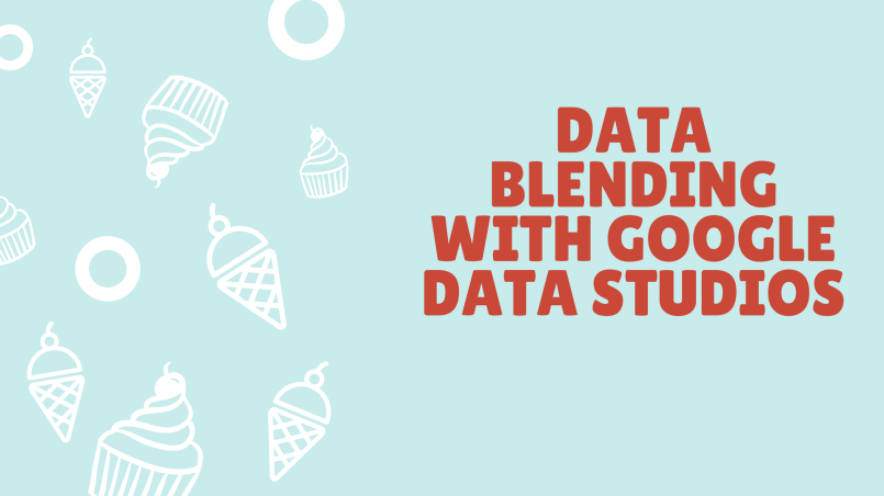 How to blend two data sources with Google Data Studios