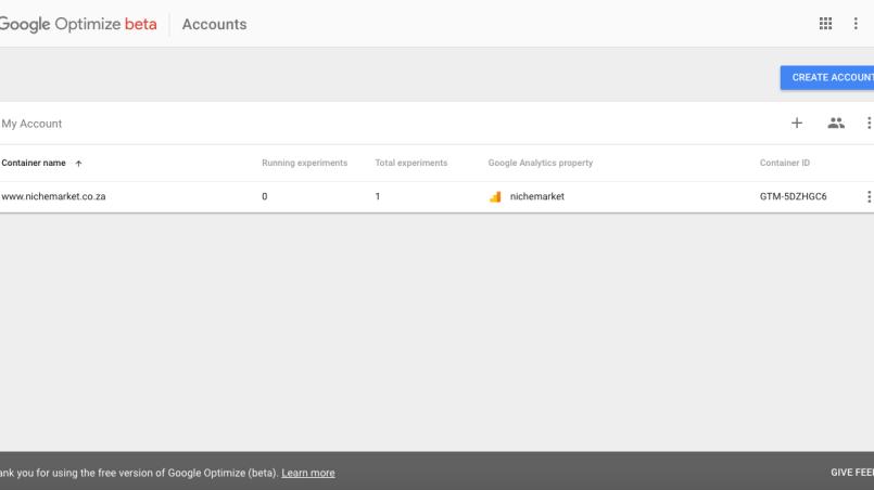 How to set up Google Optimize
