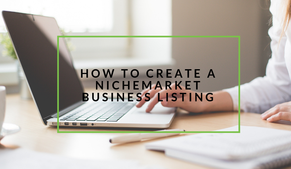 Creating a business listing on nichemarket