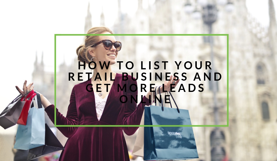 List your retail business online