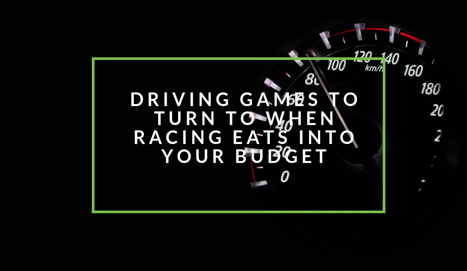 Driving games for broke racers