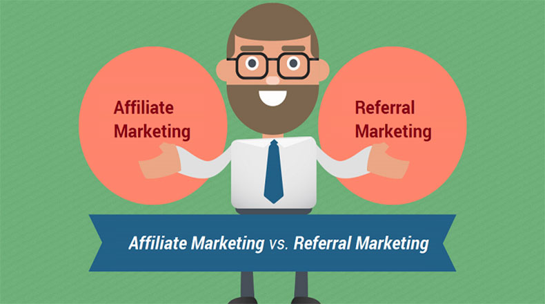 Affiliate vs Referral marketing