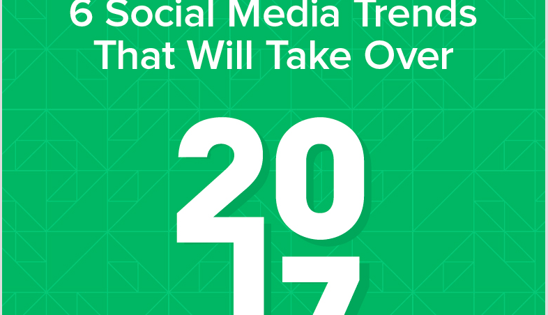 What will be the top trends for social media in 2017