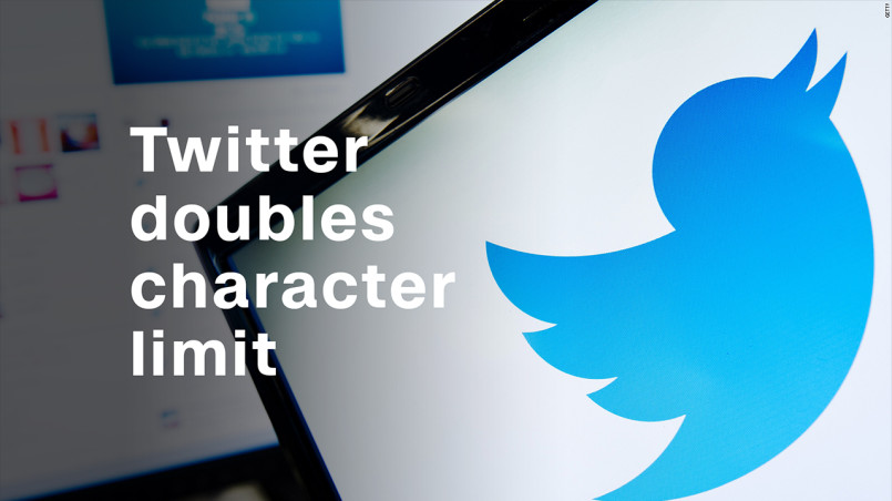 Twitter doubles its Tweet character limit