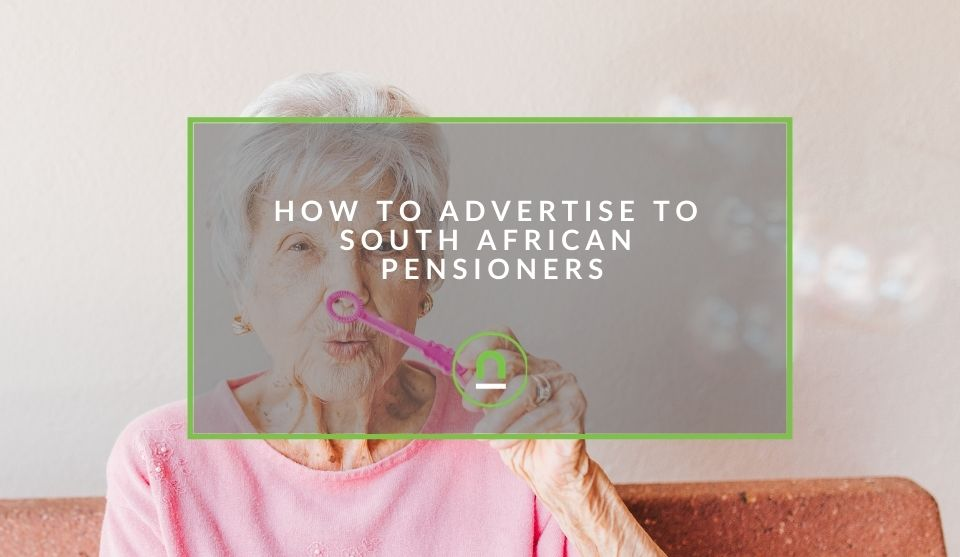 Advertise to older South Africans
