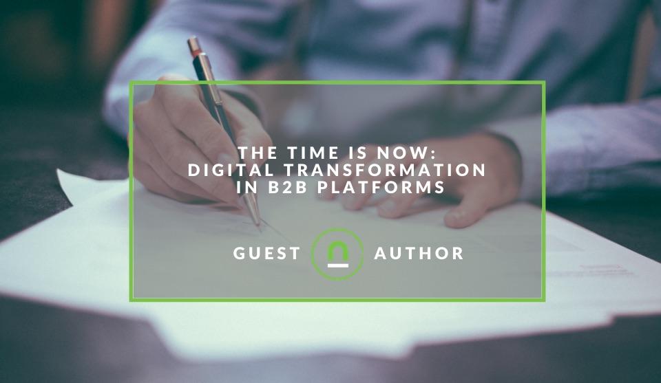 B2B plaforms transformation to digital