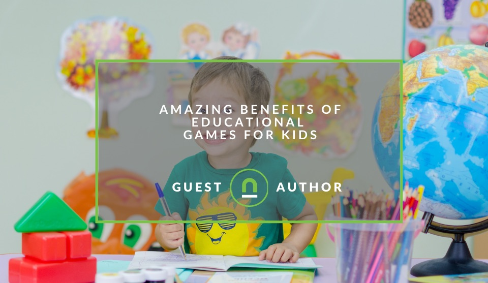Educational game benefits