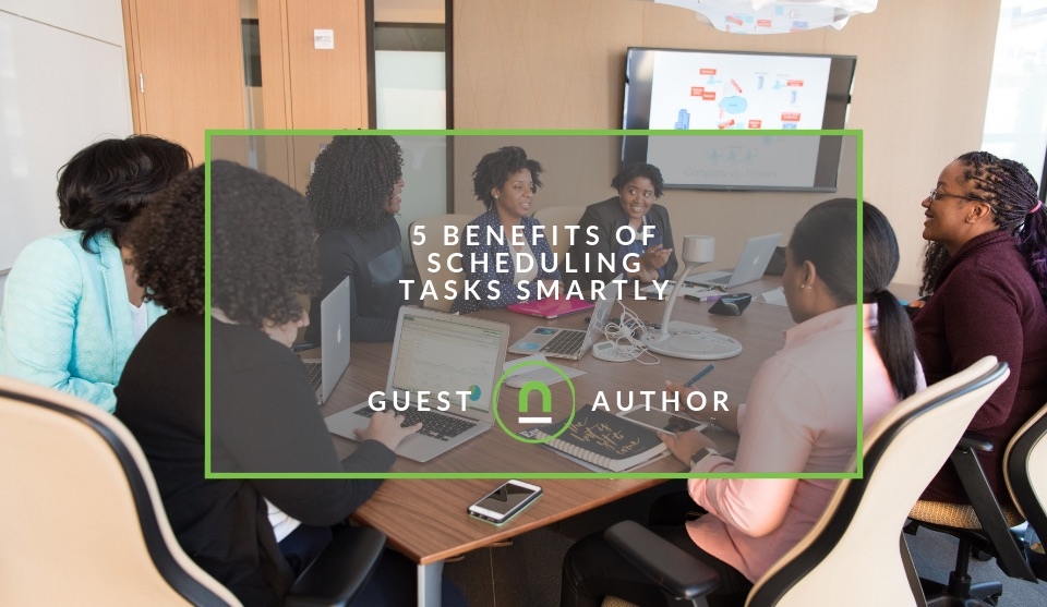 Scheduling task benefits