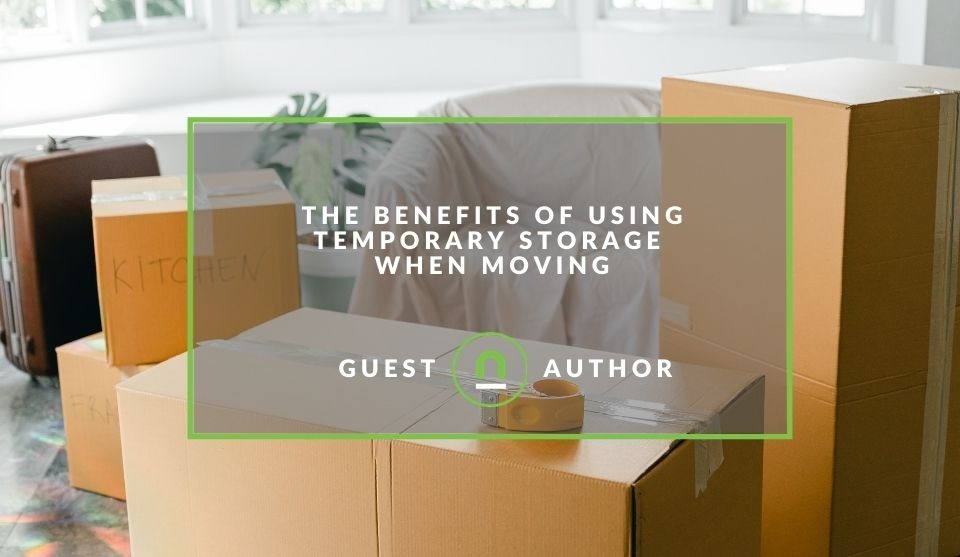 Storage unit benefits for movers