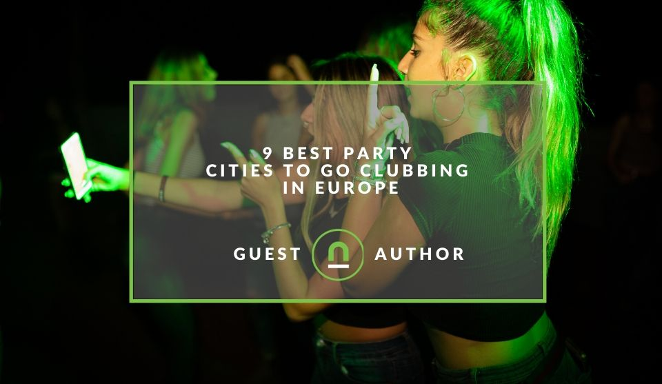 Best clubbing cities in Europe