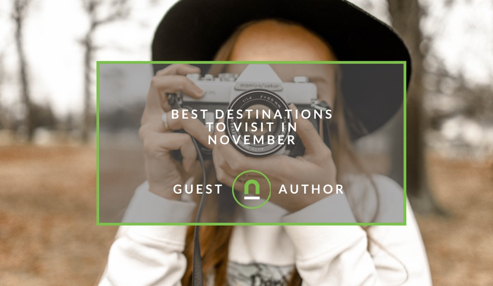 Destinations to travel to in November