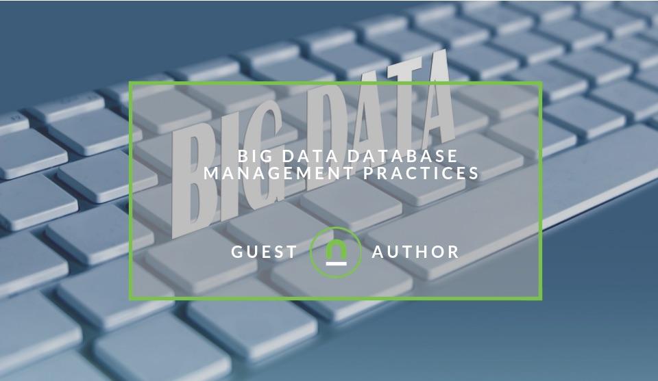 Best practices for handling big data
