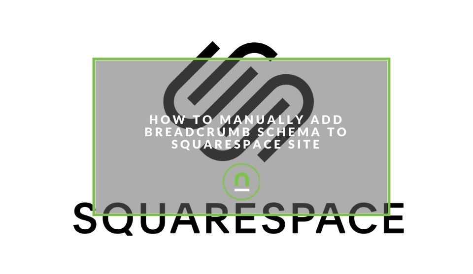Injecting breadcrumb schema squarespace