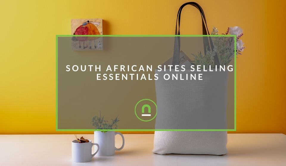 Buying essential groceries online in South Africa