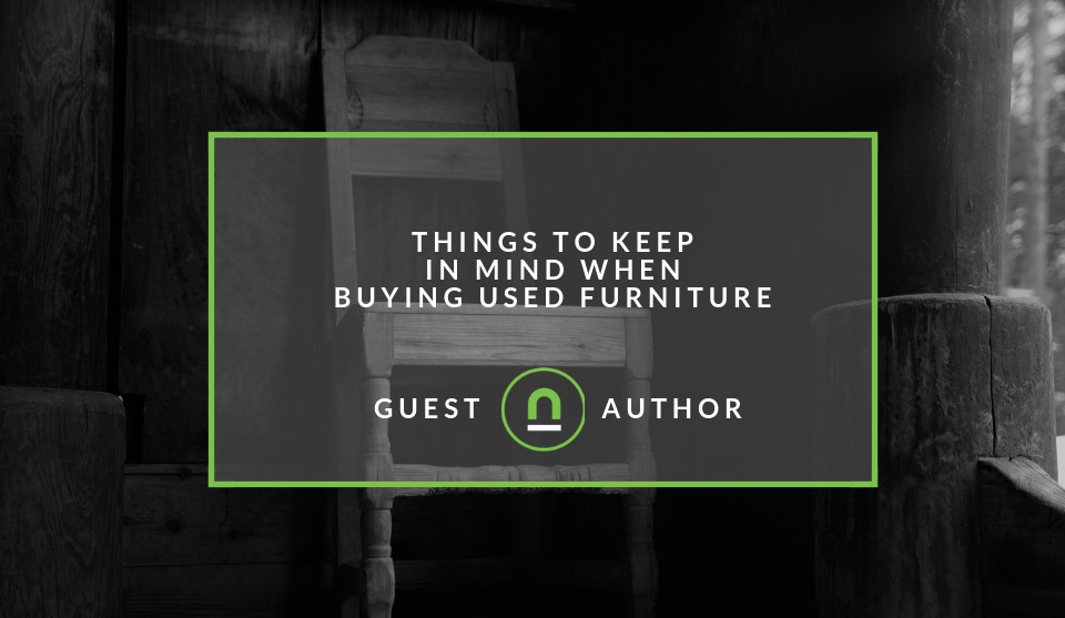 Considerations for buying used furniture