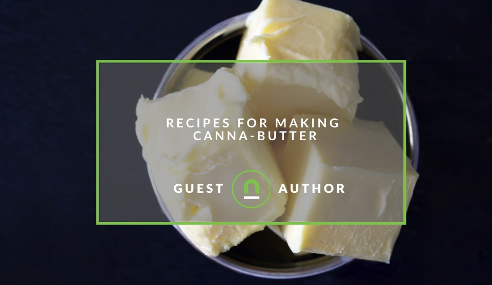 Recipes for making canna butter