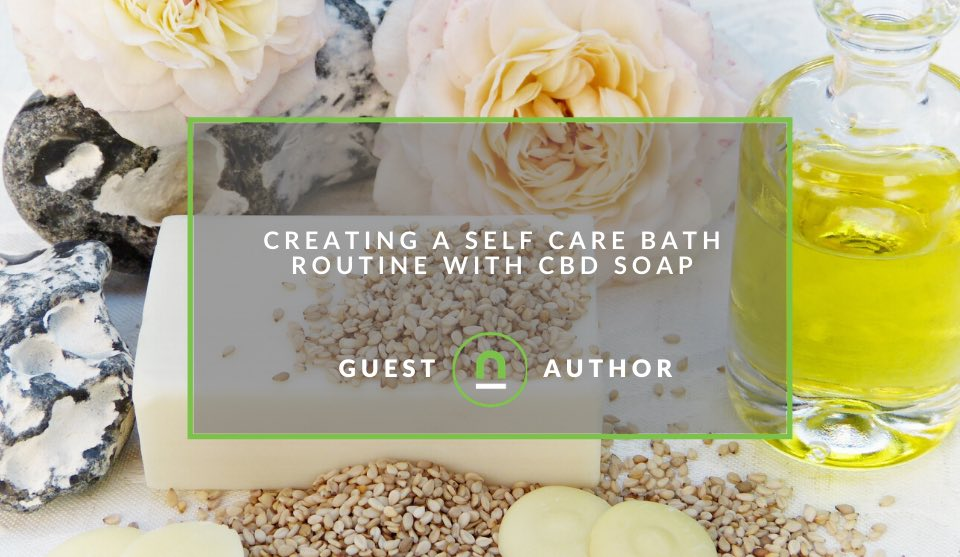 Using CBD soap in your skin care routine