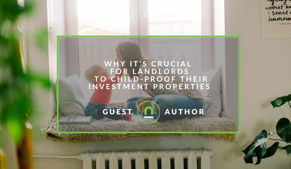 Child proof your rental home