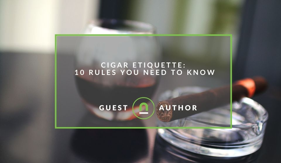 The rules of cigar smoking