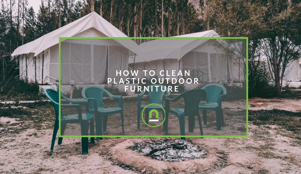 Cleaning tips plastic outdoor furniture
