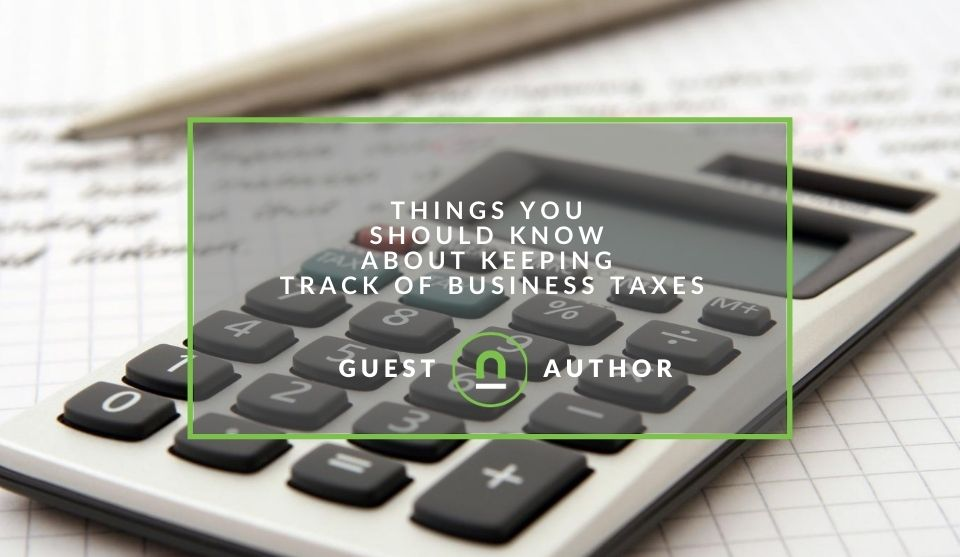 Tracking taxes small business