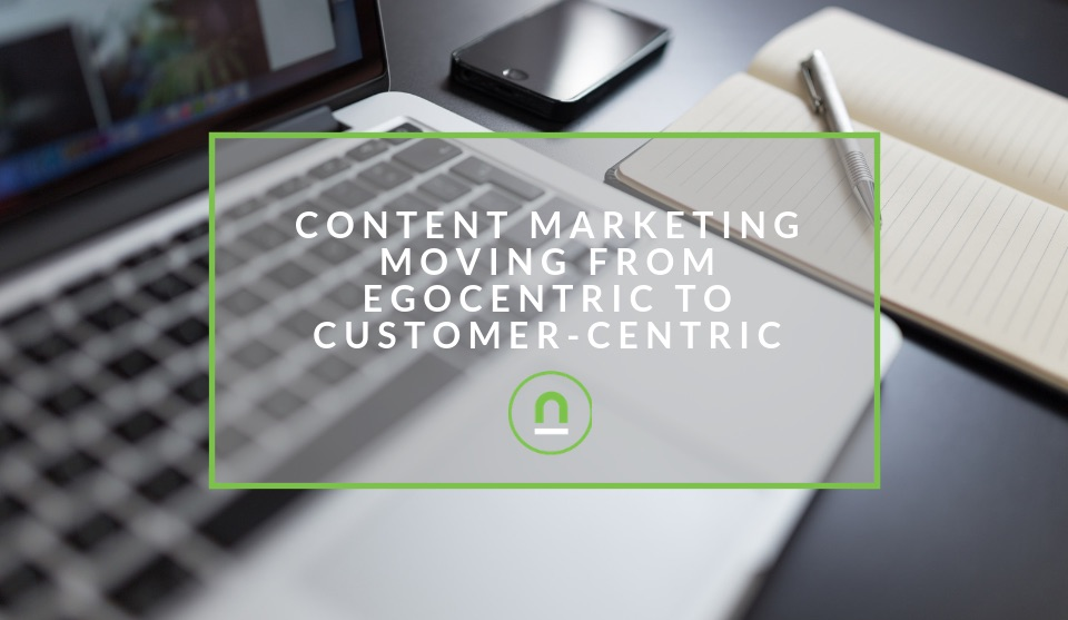 content marketing moving to customer experience