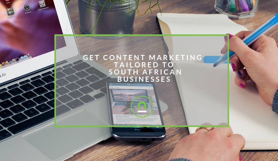 Content marketing services South Africa