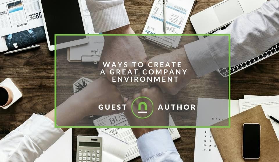 Improve company environment