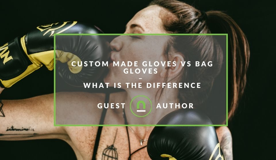 Differences in boxing gloves