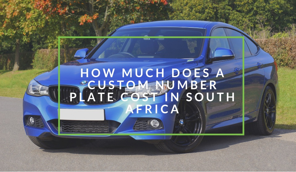 custom number plate south africa cost