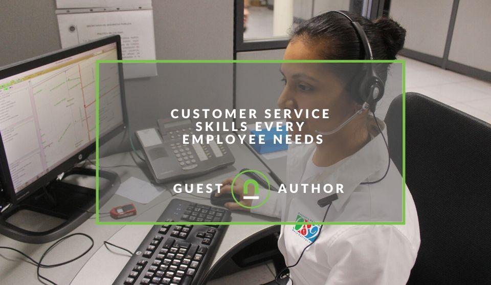 Skills needed for better customer service