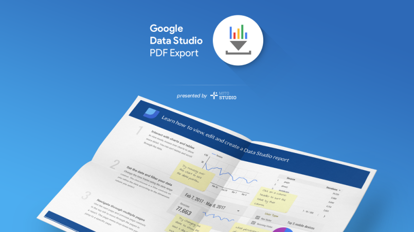Export Google Data Studio Reports to PDF in 2 minutes