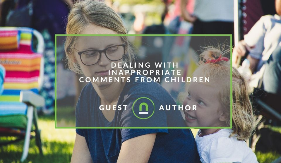 How to speak to kids about inappropriate comments