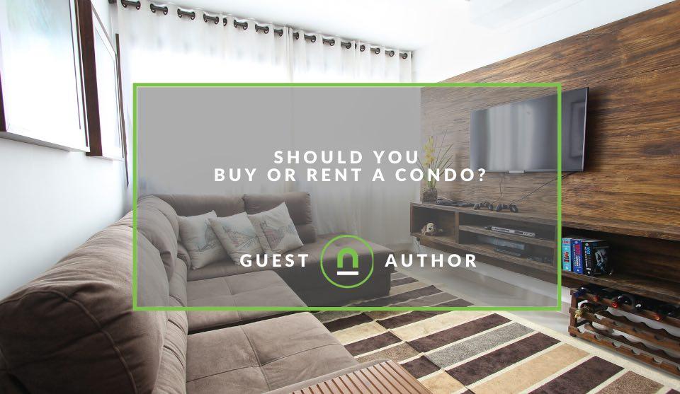 Decide to rent or buy condo