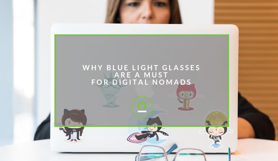 getting blue light glasses